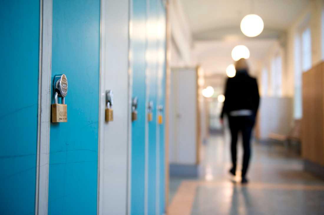 Västra Götalandsregionen gav på söndagskvällen beskedet att högstadie- och gymnasieelever rekommenderas att studera hemma på heltid redan på måndagen. Arkivbild.