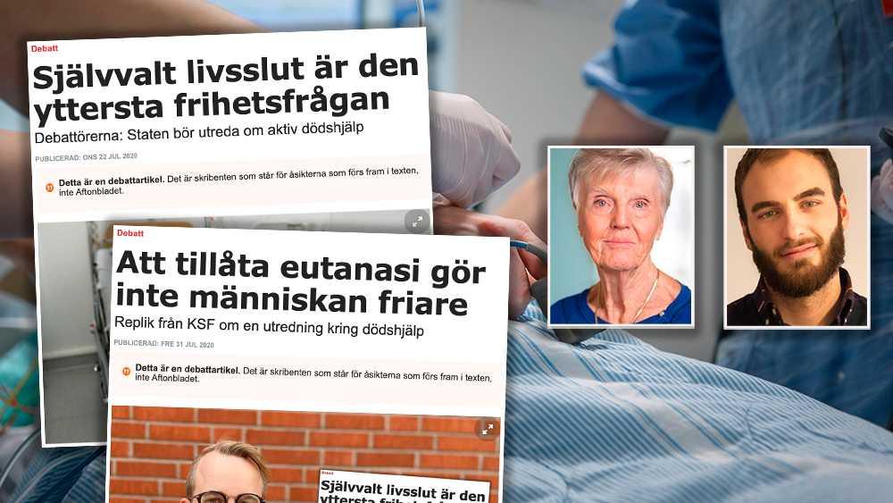 Det har varit ett stort engagemang den senaste tiden om frågan kring dödshjälp i Sverige. Där har det också visat sig att det finns en hel missförstånd vilket bara visar på behovet av en statlig utredning i frågan, skriver debattörerna.