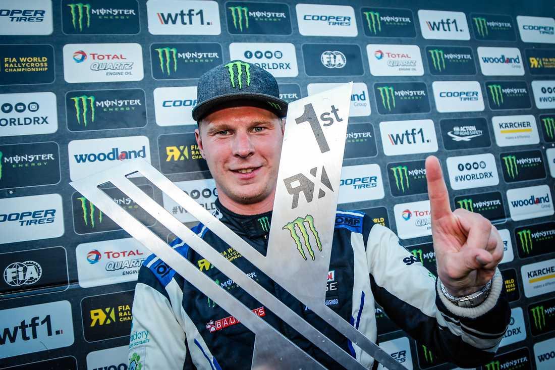 Tionde VM-segern för Johan Kristoffersson - säkrade VM-titeln för konstruktörer
