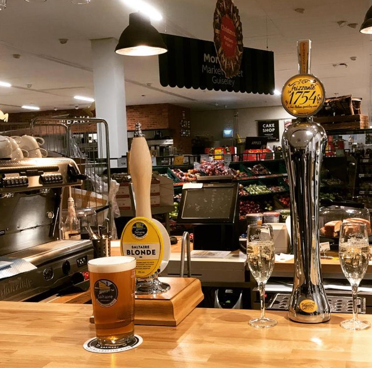 Här kan du dricka bira – när du handlar.
