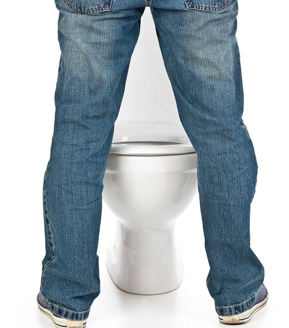 skum i urinen ibland