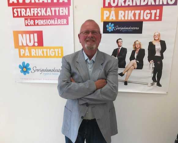 Helmuth Petersen, oppositionsråd i Trelleborg