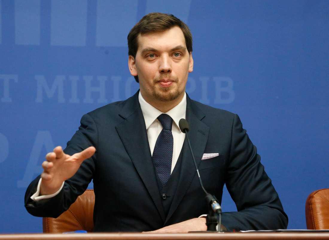 Ukrainas premiärminister Oleksyj Hontjaruk uppges vara på väg att avgå.