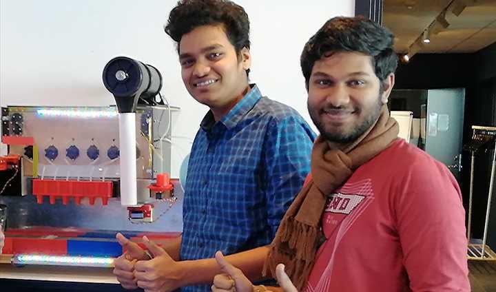 Yogesh Kumar Jagadeesan och Balu Prashanth Ravichandran.