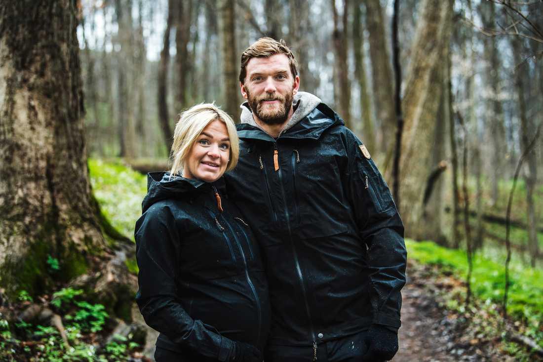 Ida Björnstad och Mattias Ekholm