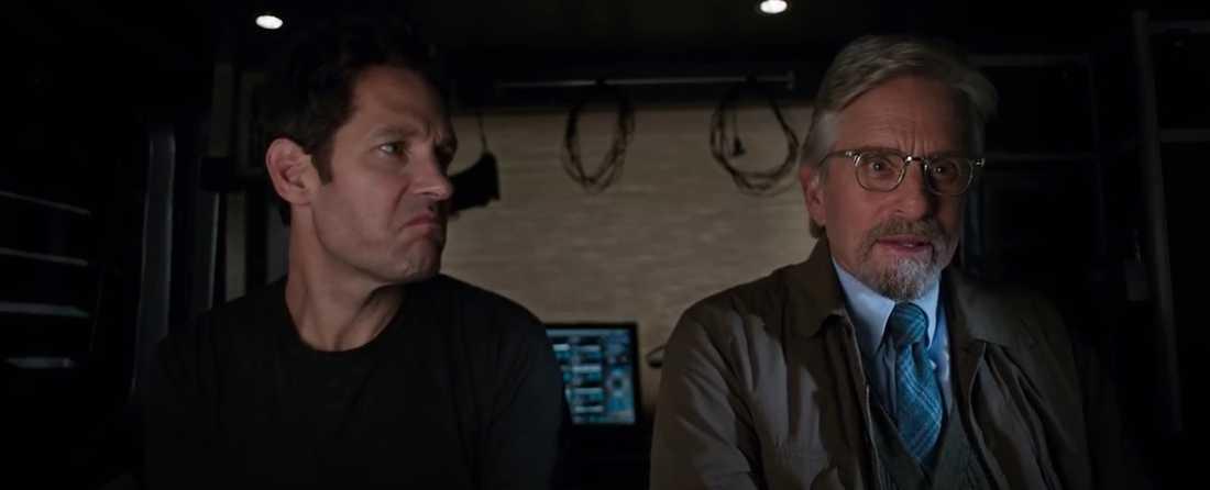 Paul Rudd och Michael Douglas.