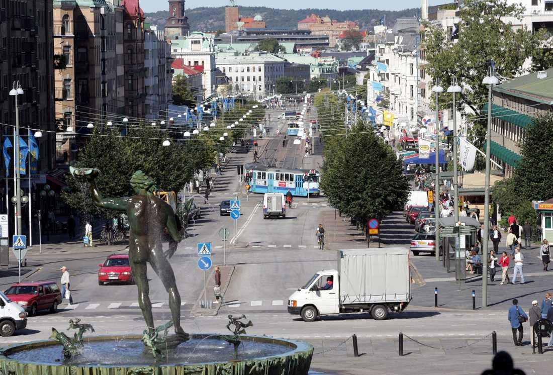 Avenyn i Göteborg.