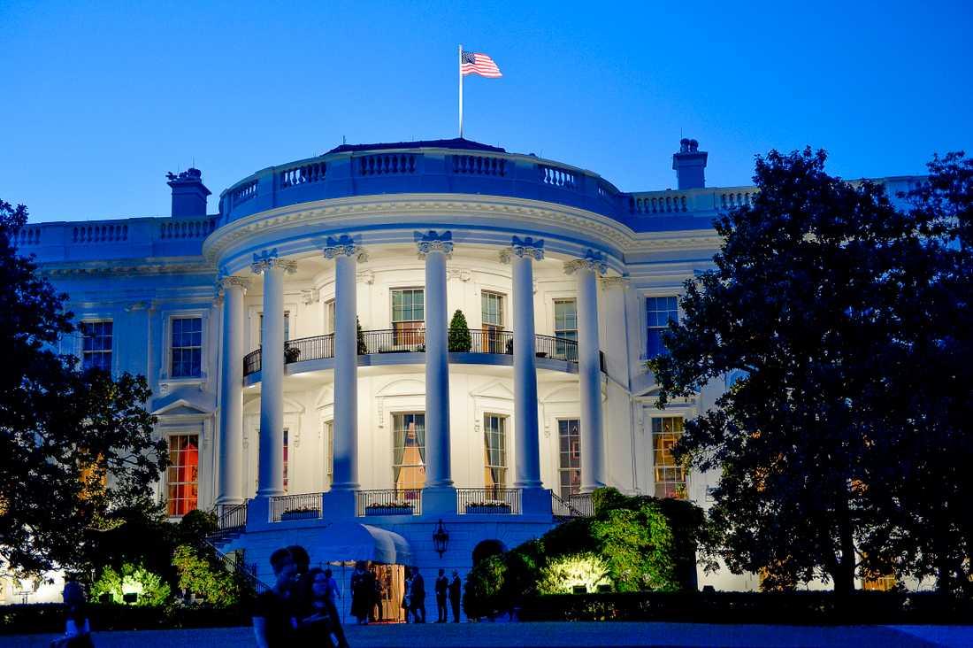 Vita huset i Washington DC.
