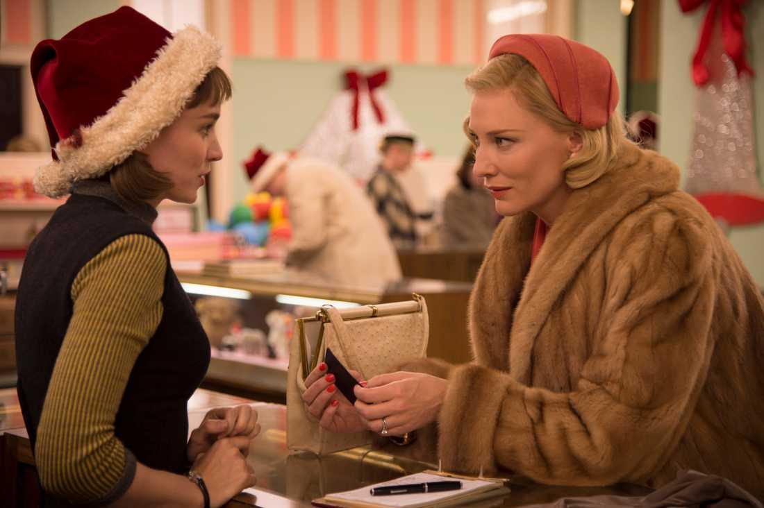 """""""Carol"""" med Rooney Mara och Cate Blanchett i huvudrollerna."""
