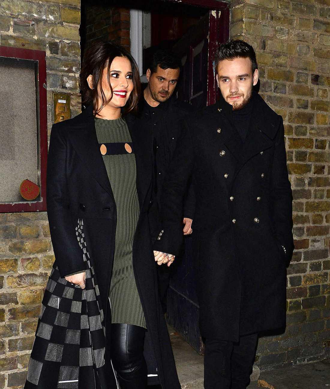Cheryl Cole och Liam Payne fångades på bild i sambnad med en julkonsert.