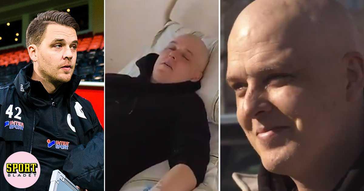 Andreas Holmberg om tuffa cancerbehandlingen