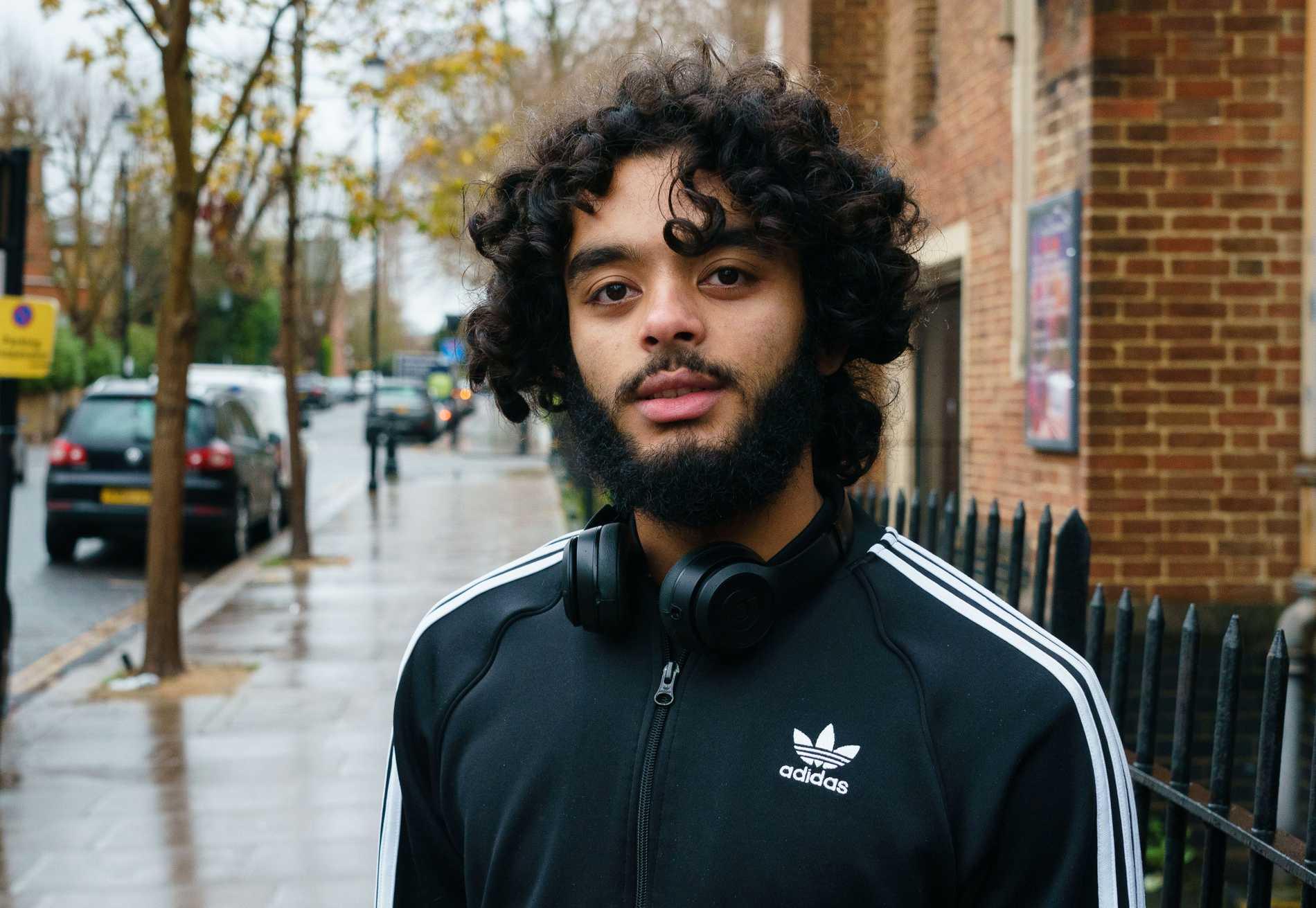19-årige Bilal förlorade flera vänner i branden i Grenfell Tower vilket påverkar hur han röstar.