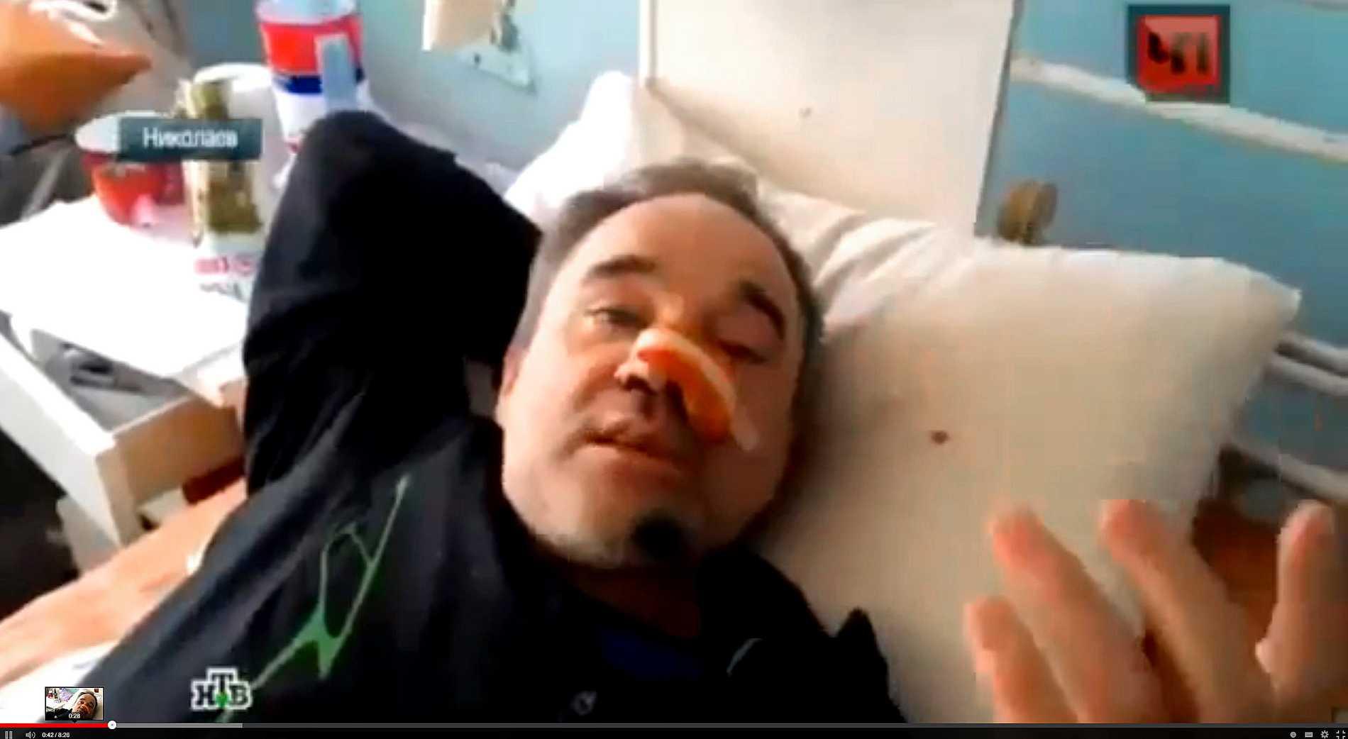 Andrei Petkov är en man med många skepnader. I olika ryska tv-kanaler dyker ha  upp som vanlig medborgare, skurk och kirurg.