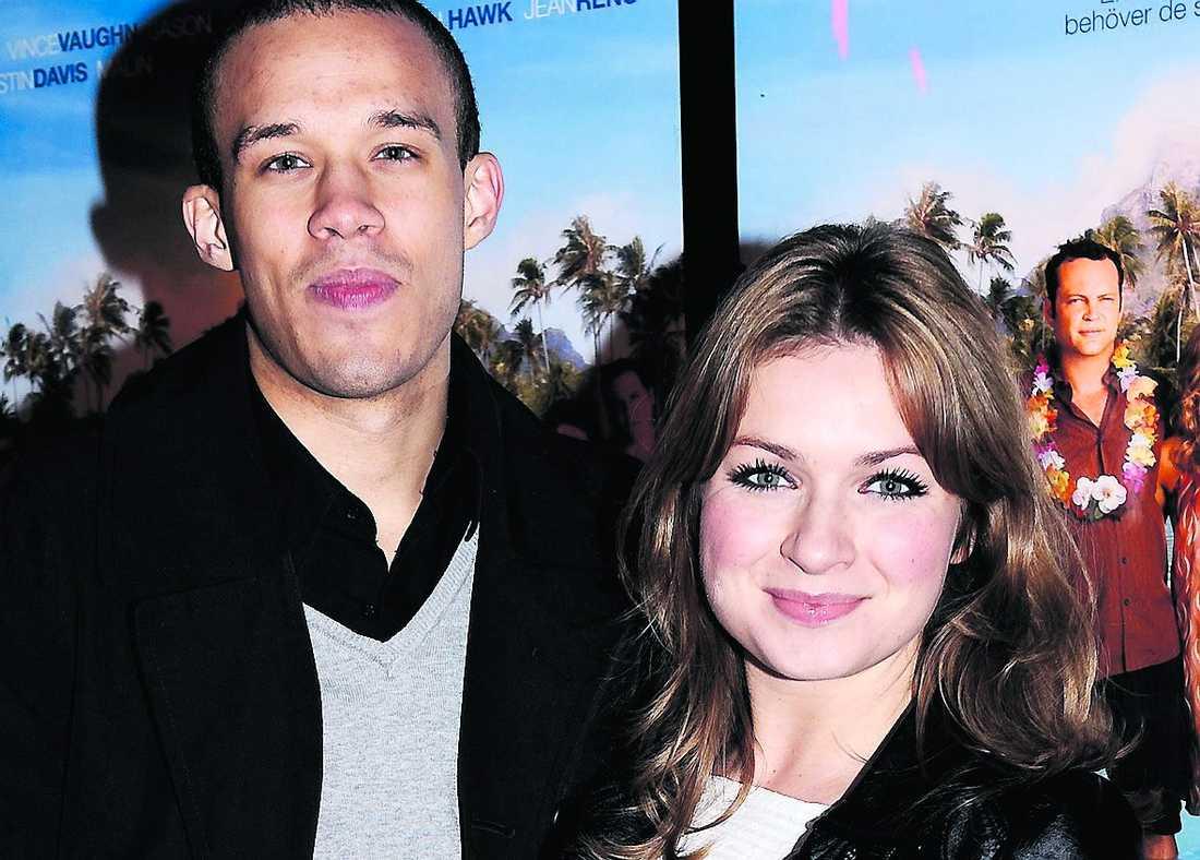 Christopher Taylor och Claudia Galli.