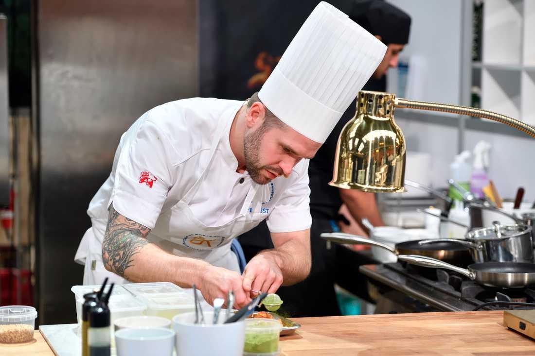 David Lundqvist blev Årets kock. Finalen hade i år flyttats till hösten för att dra nytta av säsongens råvaror.