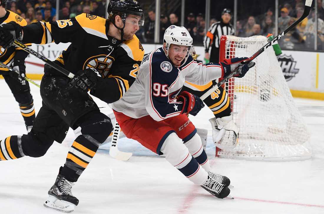 Columbus kvitterade matchserien mot Boston