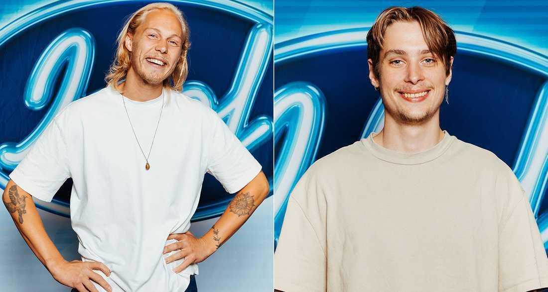 Caspar Camitz och Simon Karlsson.