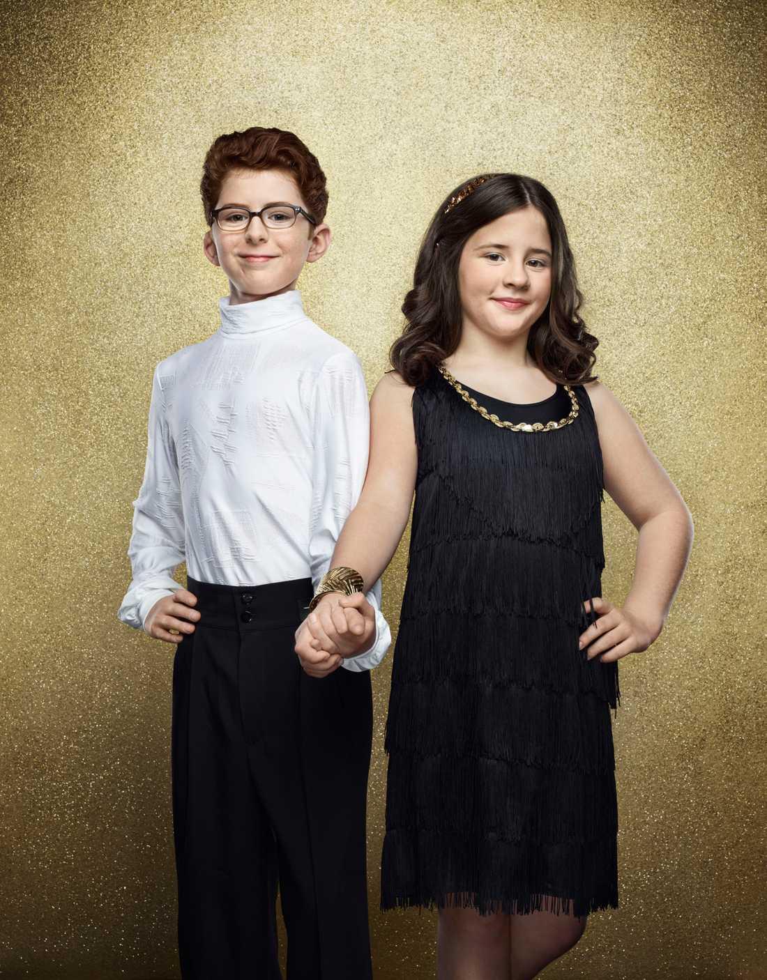 Adam Gutniak, 12 år. Spelar Pär Hammar i Tzatsiki-filmerna och dansar med Liya Norrby.