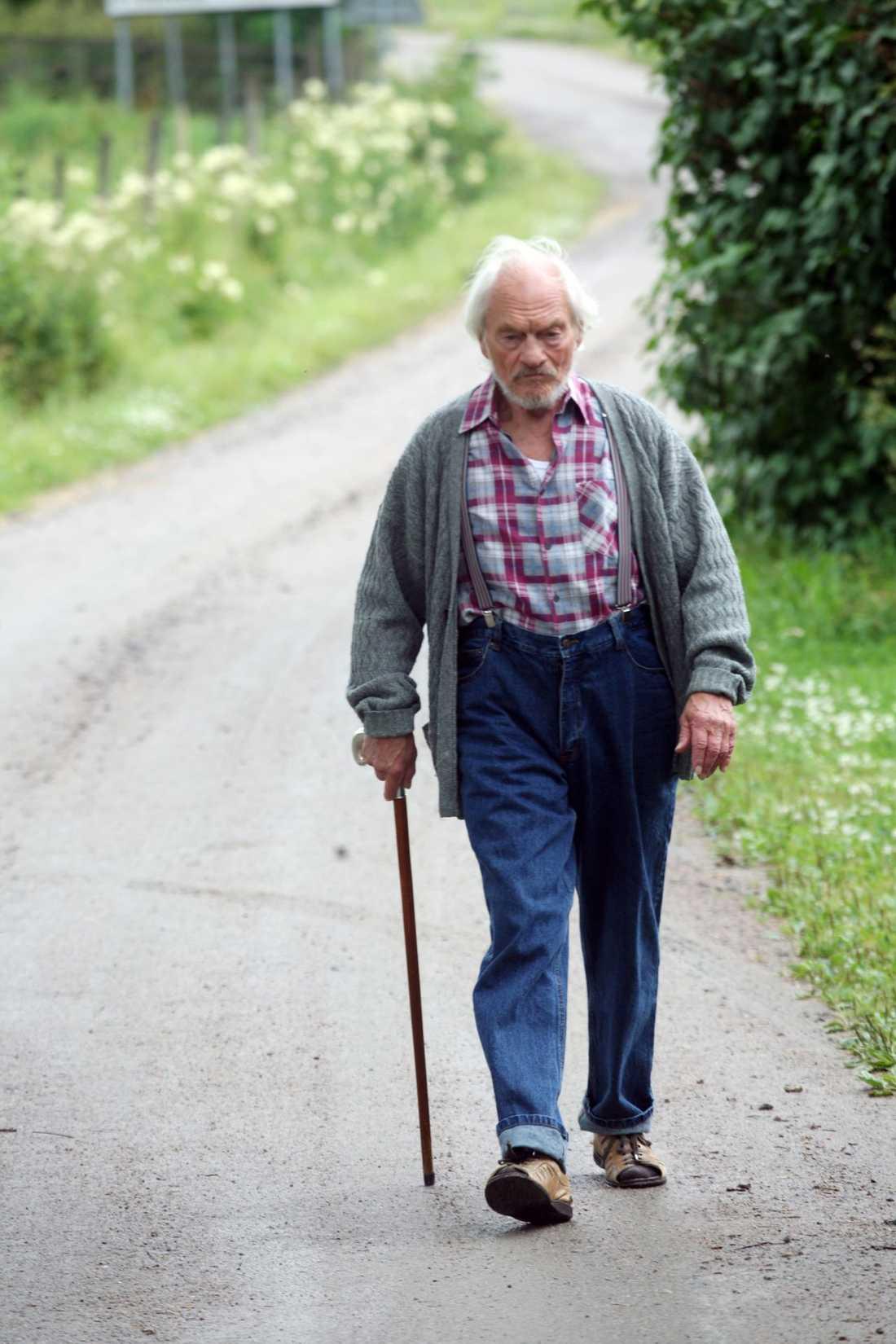 Tord Peterson, som spelar Ivar.