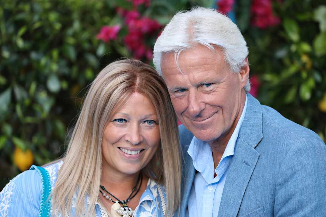 Patricia och Björn Borg.