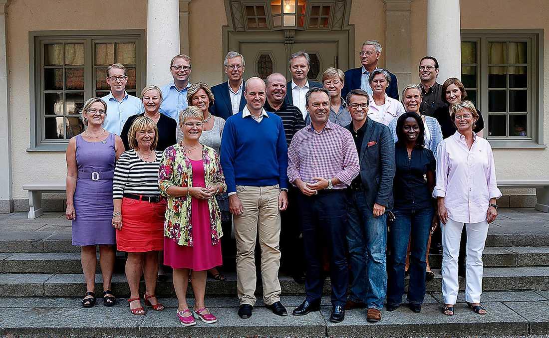 Ökade skillnader Regeringen myser under en kräftskiva i Harpsund hösten 2010. Under sex år har de fört en politik som gjort att löneklyftorna i Sverige har ökat markant.