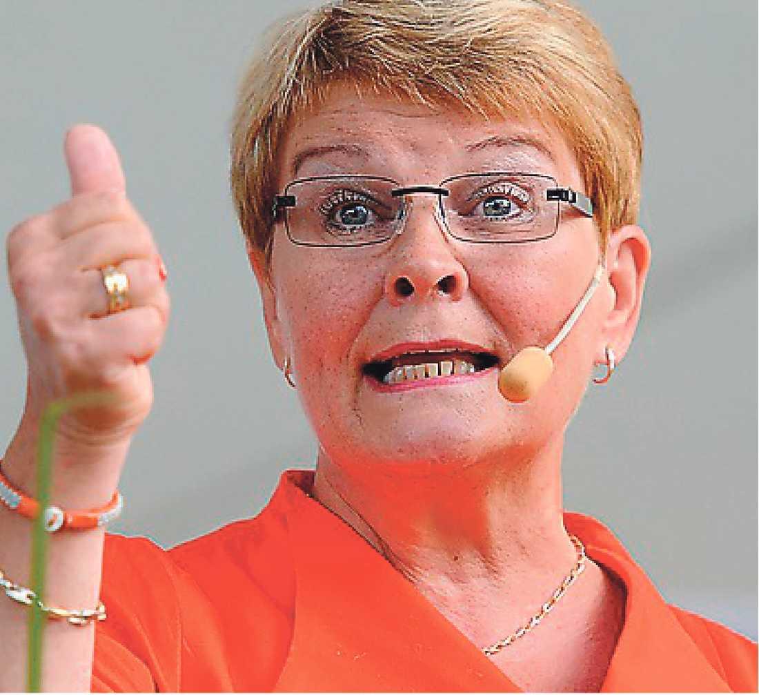Det var Maud Olofsson som drev på Sveriges miljövidrigaste projekt.