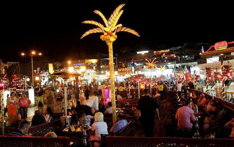 Gabriella Gardell reste ner till charterparadiset Sharm el-Sheikh i Egypten den 20 augusti.