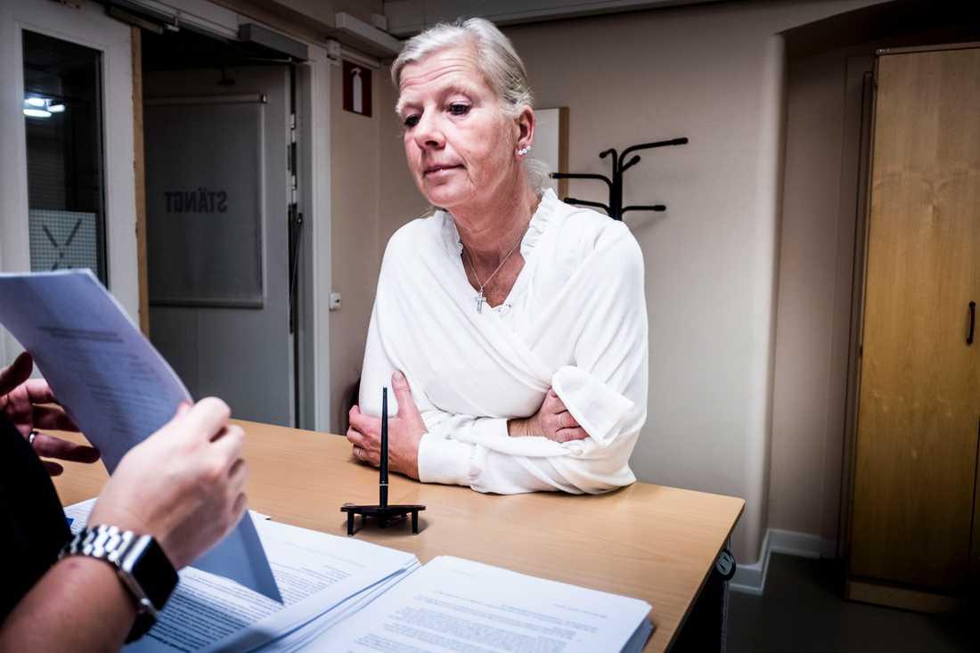 Moderaten Kristina Axén Olin återvände i höstas till politiken. Hon sitter sedan 2012 i Team Olivias styrelse. Arkivbild.