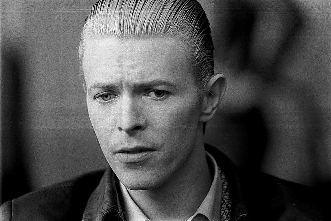 Ett stadium i David Bowies förvandling.