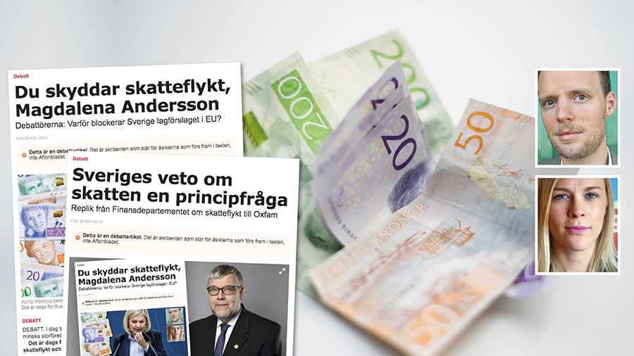 Striden om offentlig land-för-land-rapportering är inte över än utan frågan kommer att tas upp i EU igen. Vi hoppas att regeringen ändrar sin hållning, lever upp till löftena om stoppad skatteflykt och röstar ja till förslaget nästa gång det tas upp, skriver Robert Höglund och Hanna Nelson.