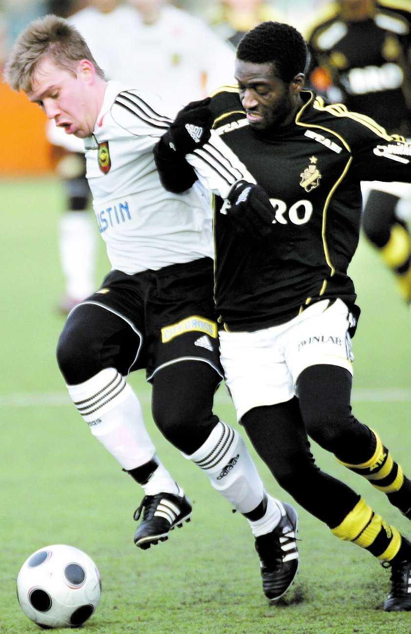 tungt AIK har endast vunnit en av fyra träningsmatcher i år.