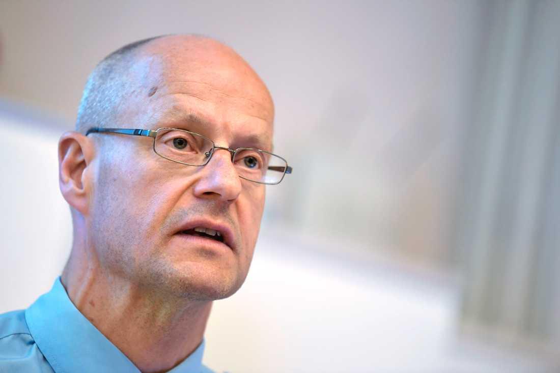 Biträdande rikspolischef Mats Löfving. Arkivbild.