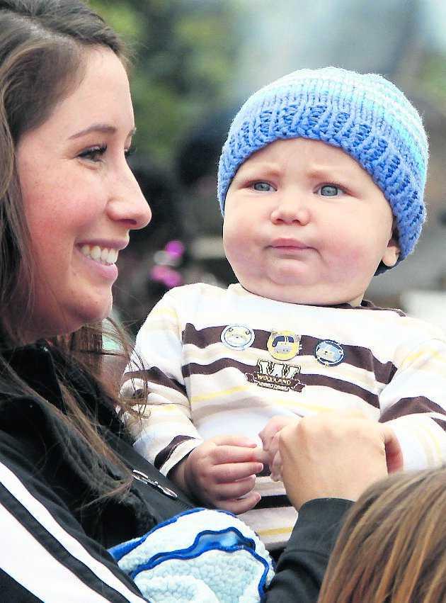 Sonen Tripp föddes i december förra året. strax därefter separerade det unga paret och mycket snart var kriget mellan Levi och Alaska-guvernören i full gång.
