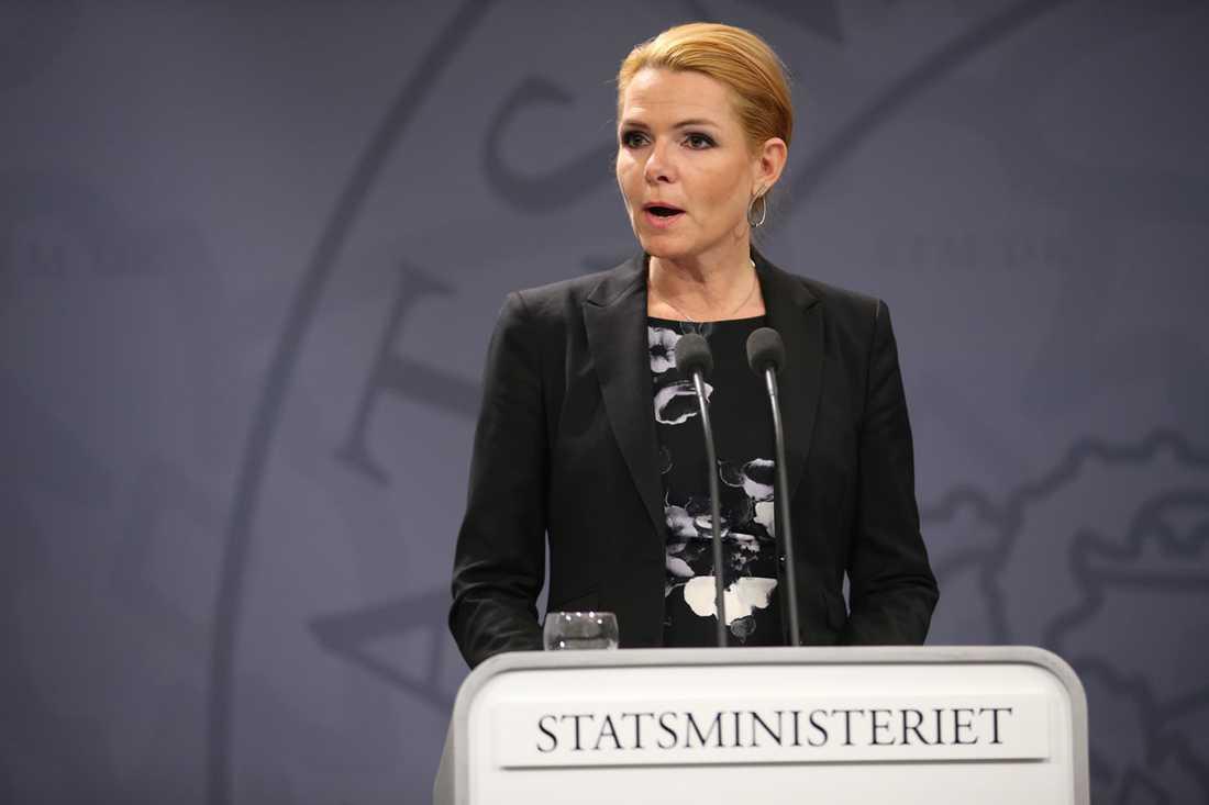 Danmarks migrationsminister Inger Støjberg.