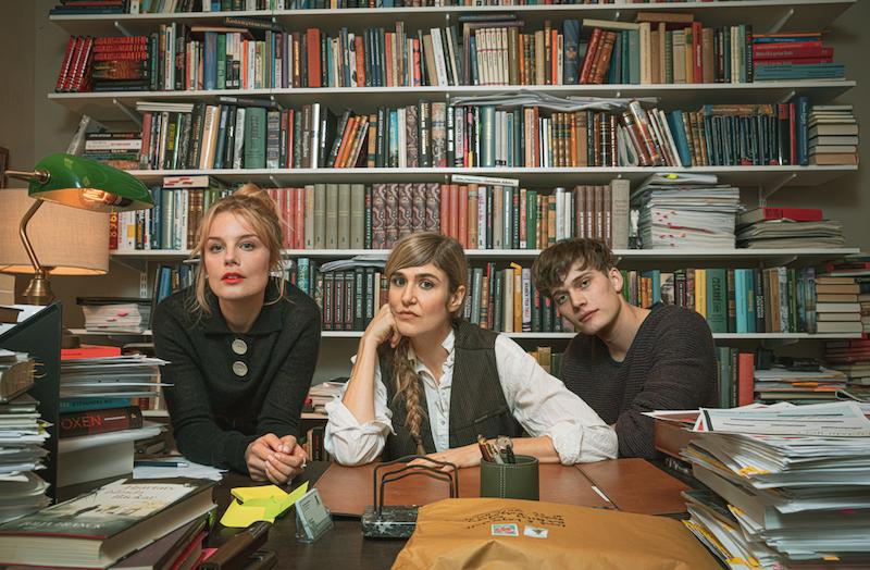 Ida Engvoll, Lisa Langseth och Björn Mosten.