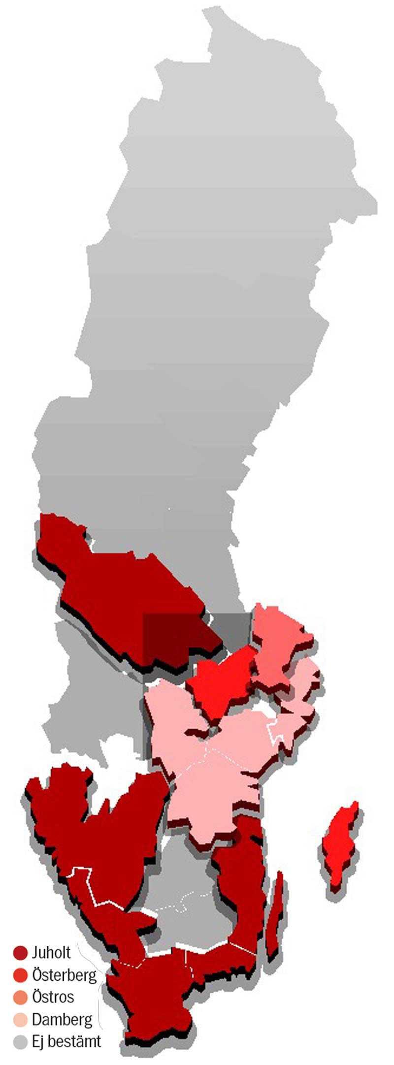 Fotnot: Kartan bygger på intervjuer med ett stort antal partimedlemmar i distrikten och högt uppsattta S-källor. Förhandlingar pågår och kartan förändras kontinuerligt.