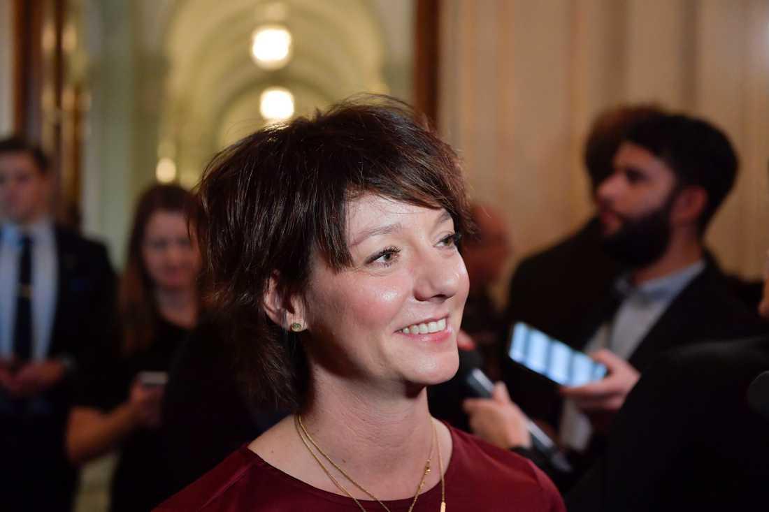 Matilda Ernkrans (S), minister för högre utbildning och forskning. Arkivbild.