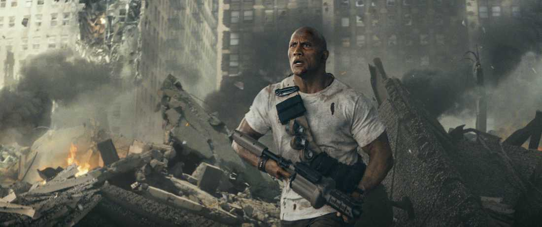 "Dwayne Johnson i ""Rampage""."