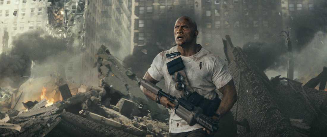 """Dwayne Johnson i """"Rampage""""."""