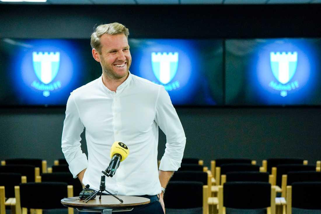 Knappt en månad efter att han presenterades som nyförvärv i Malmö FF kan Ola Toivonen göra comeback i allsvenskan. Arkivbild.