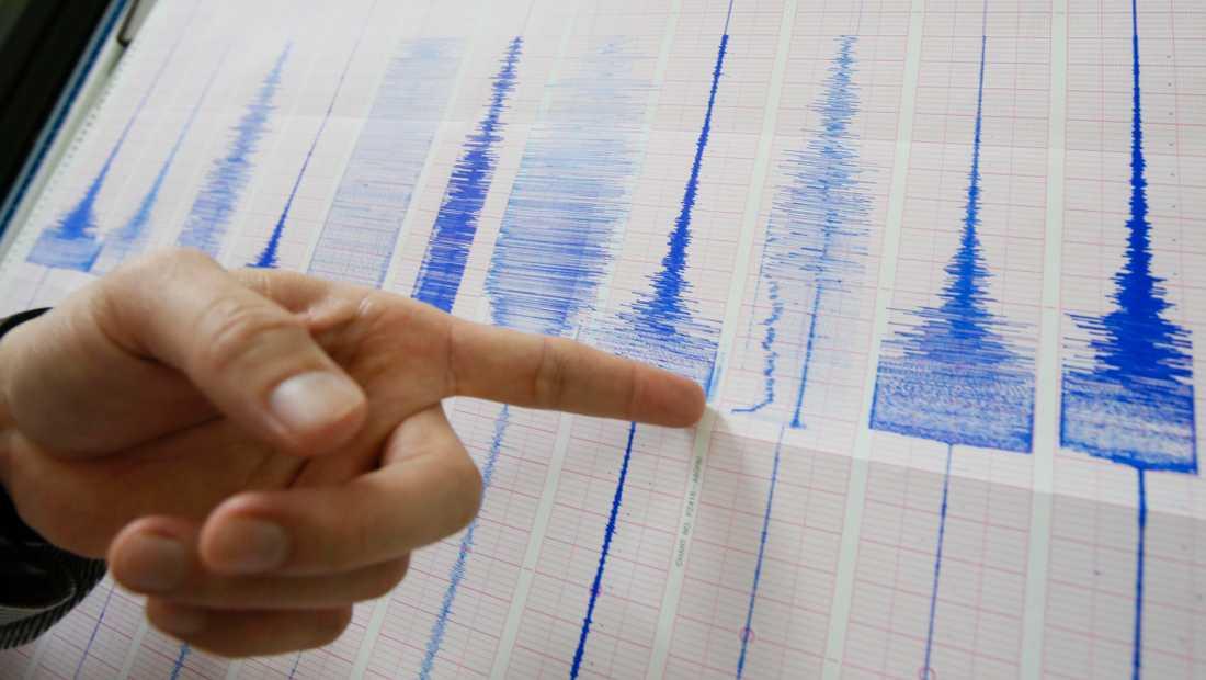 Ett jordskalv uppmättes sent på onsdagskvällen strax söder om Sundsvall. Arkivbild.