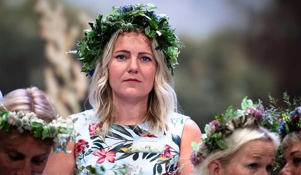 SVT:s USA-korrespondent Carina Bergfeldt sommarpratar.