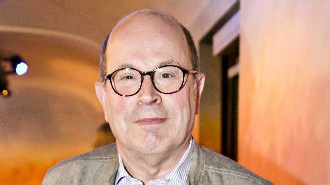 """Jan Scherman, tidigare vd för TV4-gruppen, numera """"diversearbetare inom media""""."""