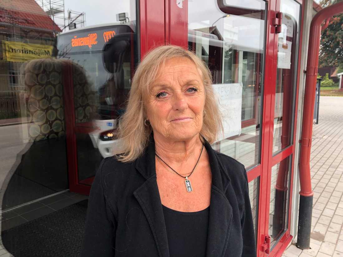 Rose-Marie Svanborg är rädd att fritidsgården Brandmannen kommer försvinna när Leksand ska spara.
