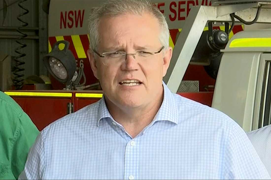 Australiens premiärminister Scott Morrison.