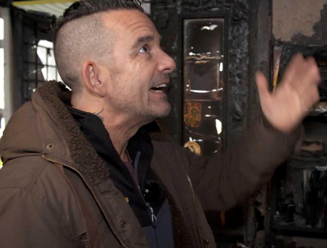 Riccardo Birghillotti, 51, blev av med sitt livsverk.