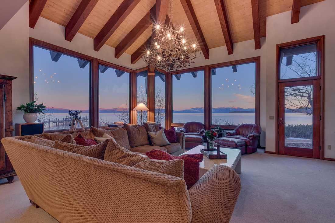 Huset vid Lake Tahoe som det ser ut idag.