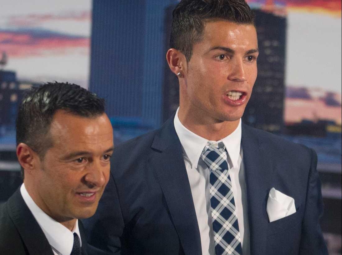 Jorge Mendes och Ronaldo