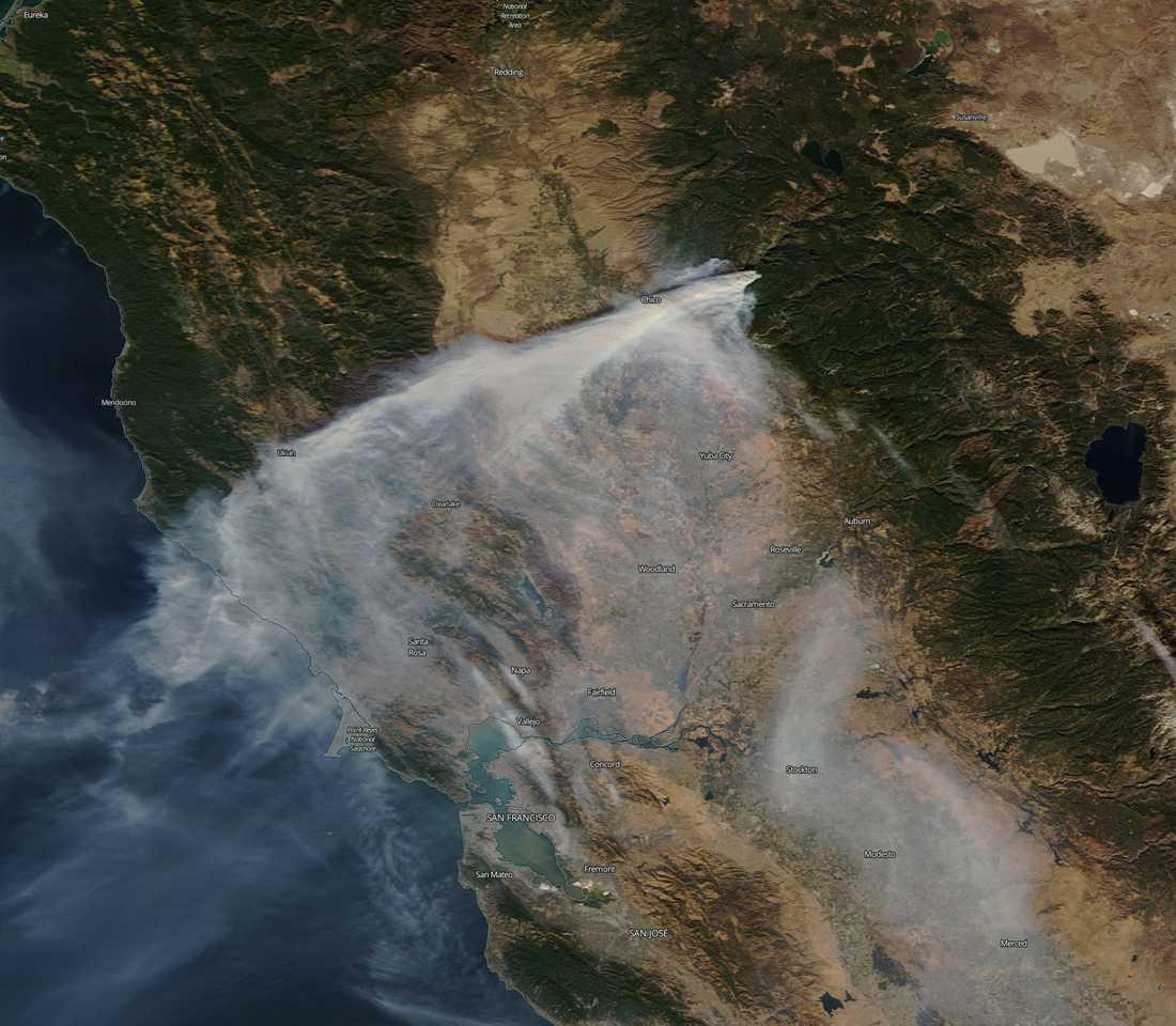 Bränderna i Chico, Californien, 11 november