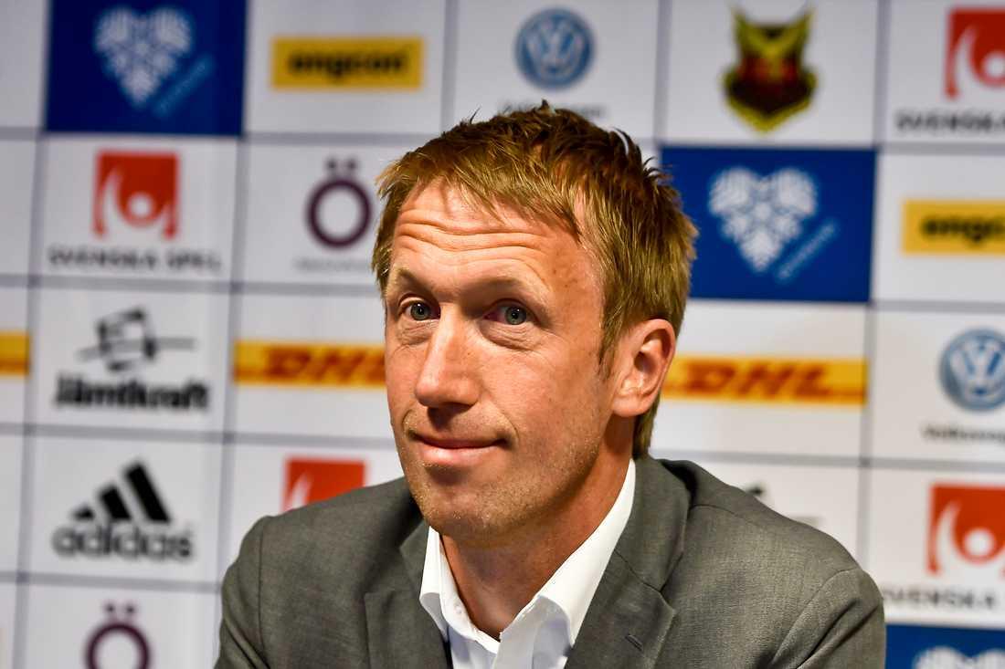 Östersunds förre tränare Graham Potter, nu i Swansea.